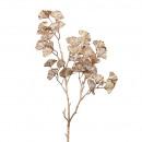 Ginko branch Mantua, L57cm, gold